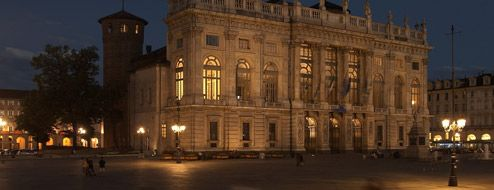 Palazzo Madama by night